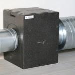 Filterbox met actieve koolfilter