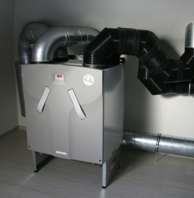 Unit – ventilatiesysteem D