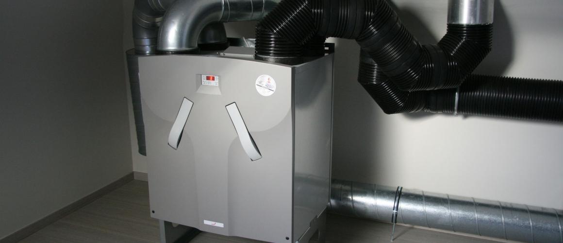 Unit – ventilatiesysteem D