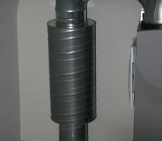 Toebehoren ventilatiesysteem – geluidsdemper