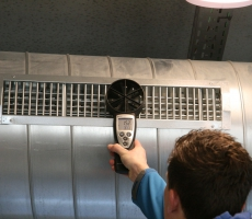 Work in Progress – inregelen ventilatiesysteem